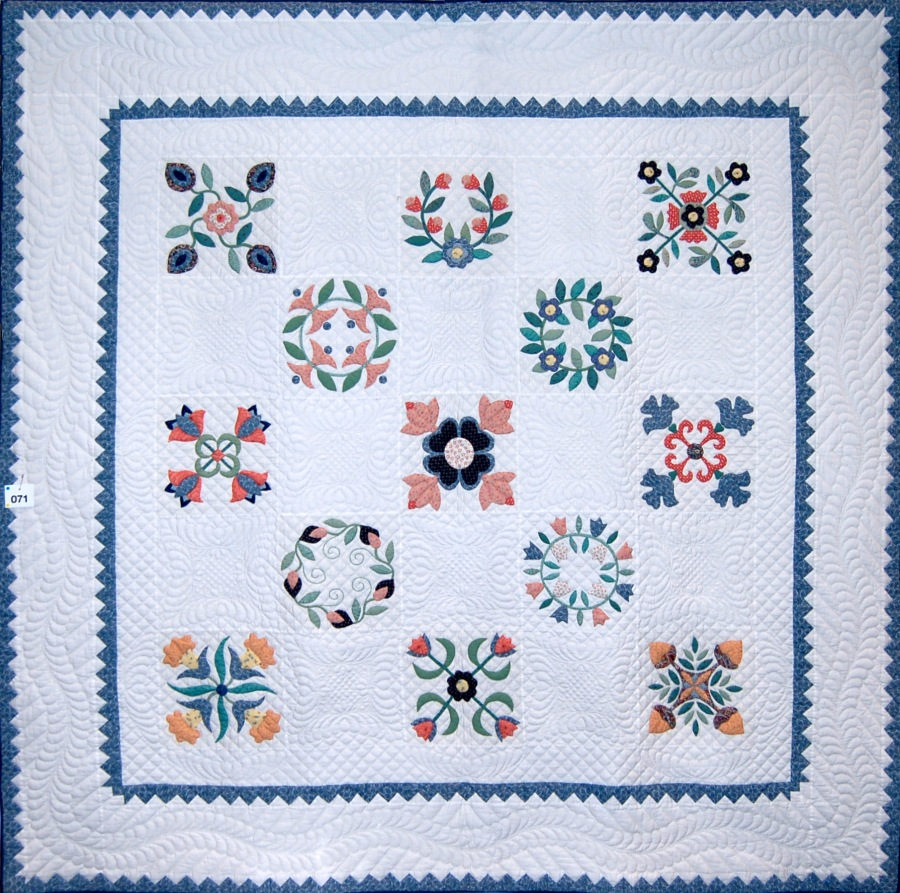 Millenium Quilt by Phil Thomas; Trad Pred App Am 1st
