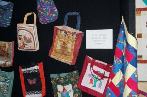 Community Quilt bags for refuge