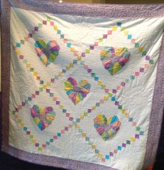 Deborah's Heart quilt