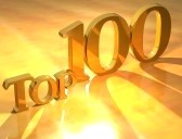 8901476-3d-top-100-gold-text-on-yellow-background