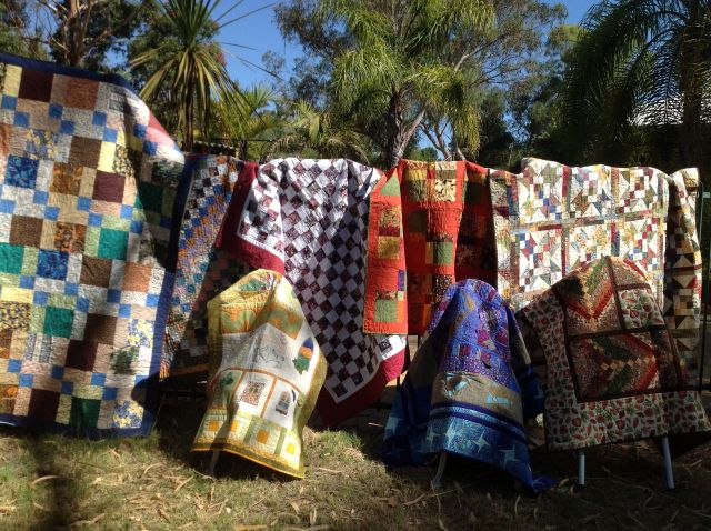 Bushfire quilts we have gathered so far...