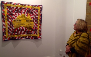 Virginia O'Keeffe talking about her quilt - Sovereign Borders
