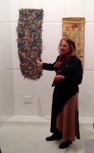 Meg Cowey and her entry - Munda Biddi Sojourne