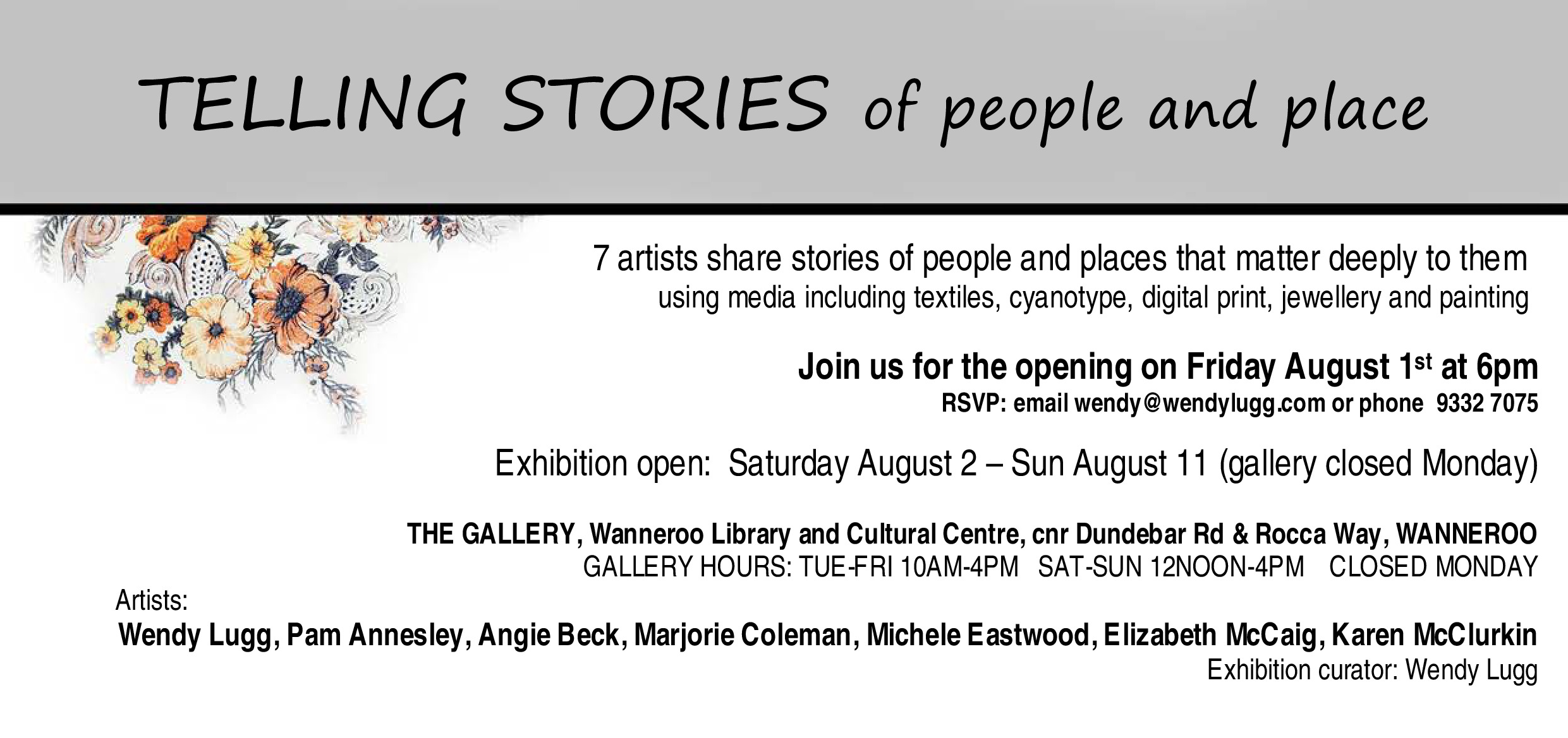 Telling Stories – Wannaroo Gallery | WA*Quilters