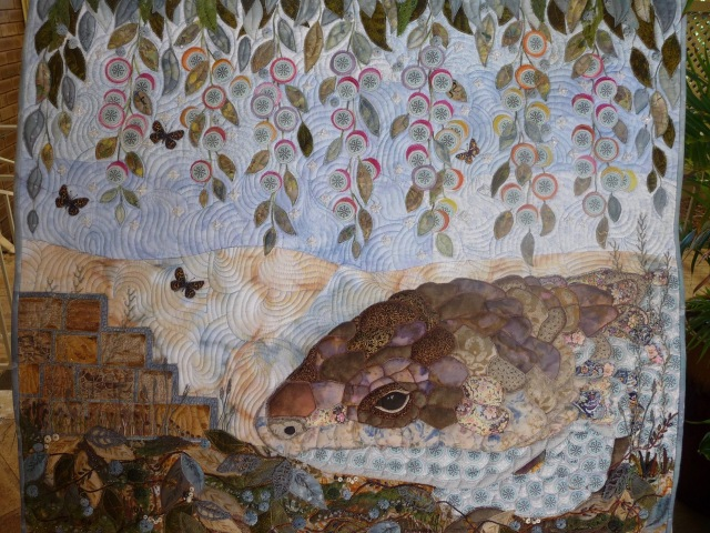 Lizard in the garden by Elizabeth Humphreys. Viewers choice
