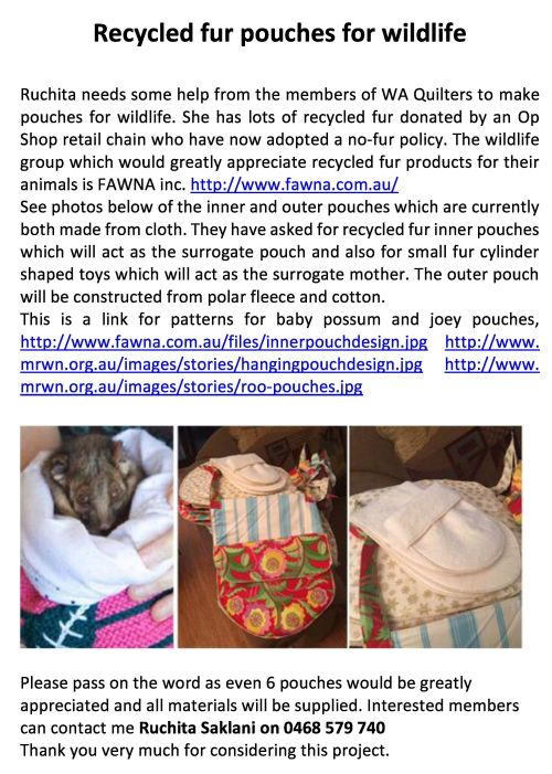 Recycled fur pouches for wildlife-page-0 crop