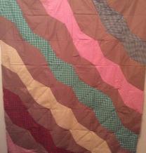 bent square quilt